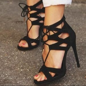 Steve Madden Maiden Leather Sandals